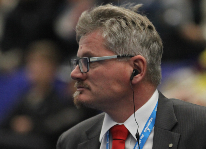 Suomen kaksi kertaa maailmanmestariksi valmentanut Petteri Nykky palaa Salibandyliigaan viiden vuoden tauon jälkeen. Kuva: Salibandyliiga.