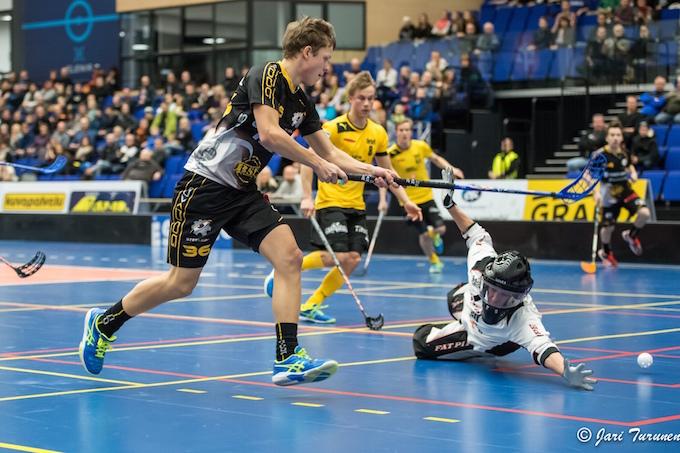 Ville Lastikka ei todennäköisesti tao maaleja enää tämän kauden jälkeen Divarissa. Kuva: Jari Turunen.