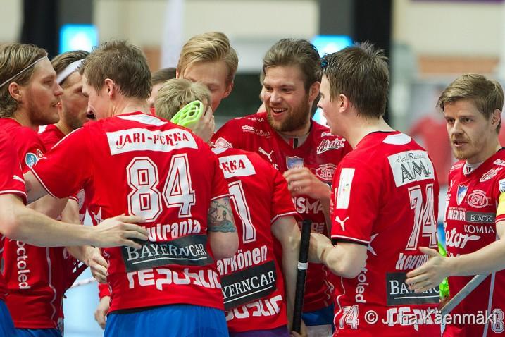 SPV nousi kuuden maalin takaa-ajoasemasta tasoihin Erää vastaan. Arkistokuva: Juha Käenmäki