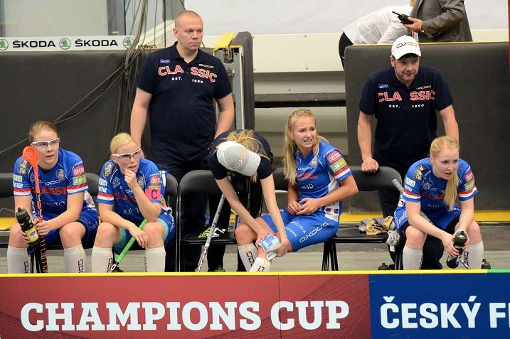 Classic pelaa huomenna Champions Cupin naisten finaalissa. Kuva: IFF