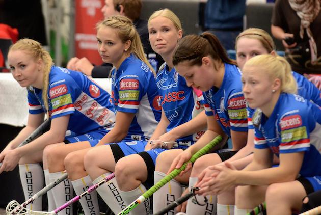 Naisten Champions Cupin finaalia Tshekin Mlada Boleslavissa seurasi paikan päällä 857 katsojaa. Kuva: IFF