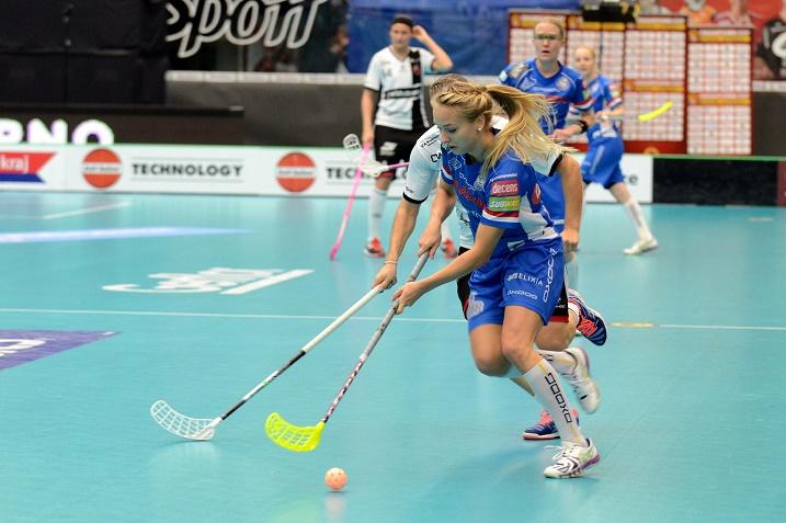 Ella Alanko väänsi ansiokkaasti Classcin ykkösvitjassa. Kahdessa ottelussa syntyivät tehopisteet 0+4. Kuva:  IFF