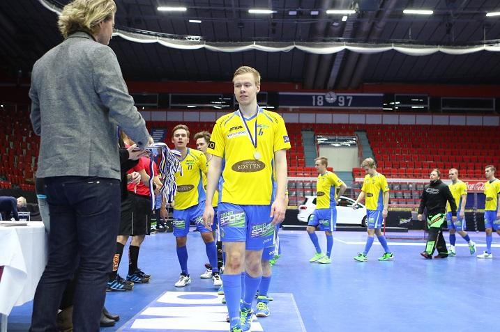FBC Turku ylsi viime kaudella miesten Suomen Cupin pikkufinaalin. Joukkue kohtaa neljännellä kierroksella Tiikerit. Kuva: Salibandyliiga