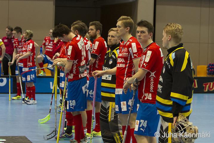 SPV kohtaa huomenna Champions Cupin välierissä Sveitsin mestarin. Arkistokuva: Juha Käenmäki.