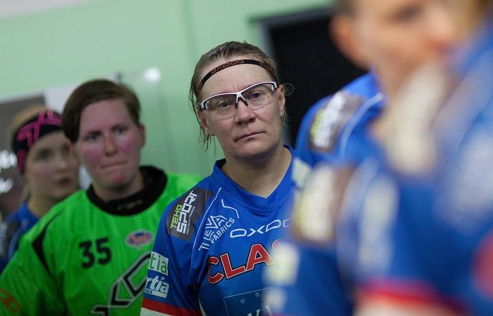 Katriina Saarinen pelaa jo yhdeksättä kertaa Euroopan parhaan seurajoukkueen tittelistä.  Kuva:IFF