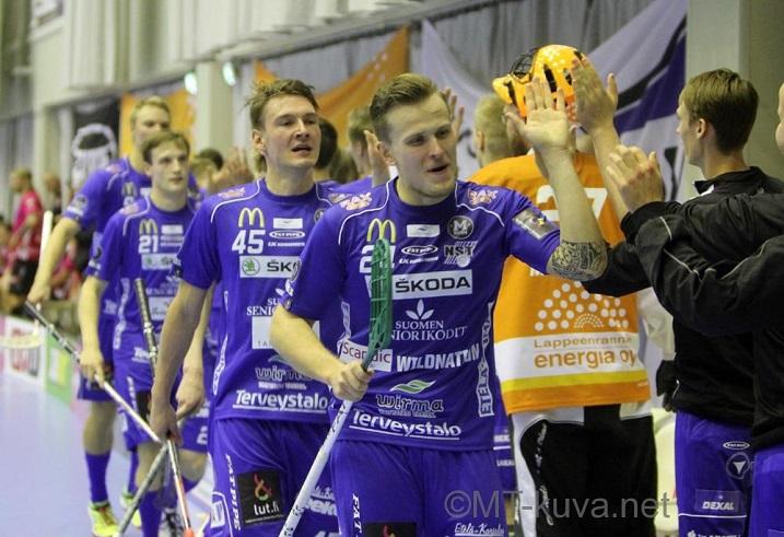 NST hakee perjantaina kauden toista kotivoittoaan. Kuva: Markku Taurama