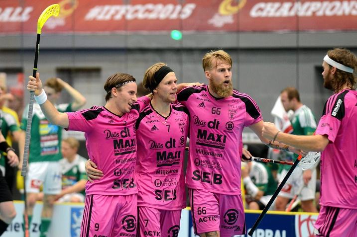 Rasmus enström (nro. 7) ja Alexander Galante Carlström (nro. 9) ovat olleet tuhoisa tutkapari viime vuosina. Kuva. IFF