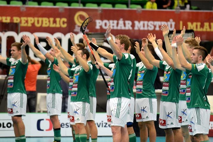 SV Wiler-Ersigen kaatoi Florbal MB:n puolivälierissä lukemin 6-2 ja kohtaa välierissä SPV:n. Kuva: IFF