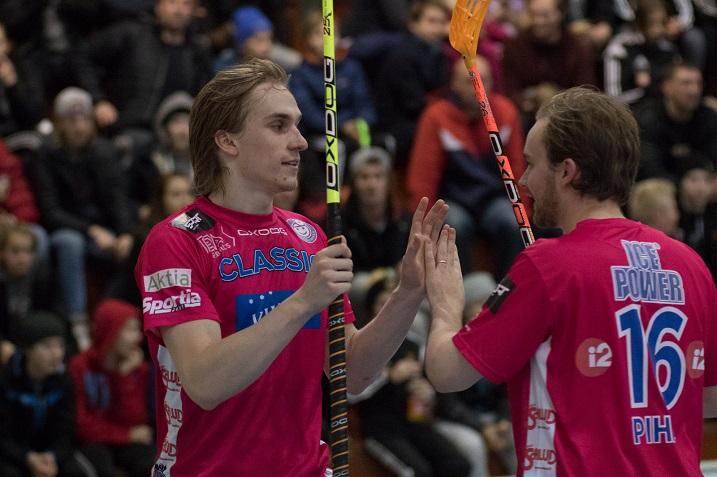 Sami Johansson osui kolmesti Kooveen verkkoon. Kuva: Topi Naskali
