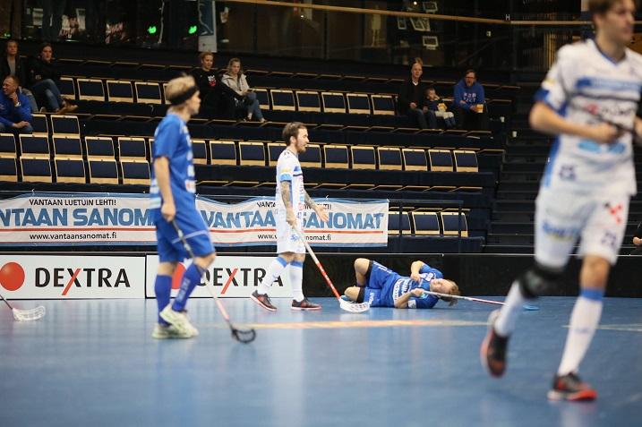 Tuomas Savukoski tuomittiin yhden ottelun pelikieltoon. Kuva: Mikko Hyvärinen