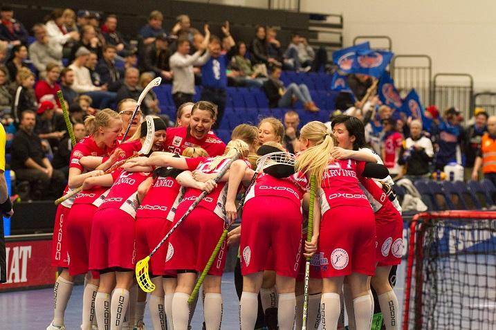 Classic edustaa Suomea Champions Cupissa. Turnaus alkaa joukkueen osalta lauantain välieristä. Kuva: Topi Naskali