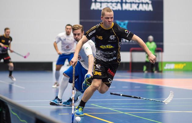 Steelersin Ville Lastikka on Divarin kuumin pelaaja. Kuva: Jari Turunen