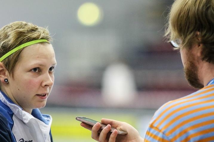 Sani Klinga pelaa loistokautta Ruotsin Superliigassa. Kahdeksassa ottelussa on syntynyt tehot 8+1. Kuva: Mika Hilska