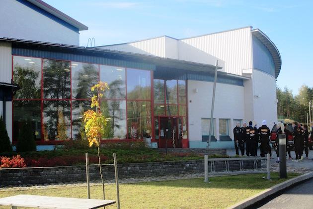 Joutsenohalli valmistui vuonna 2009.