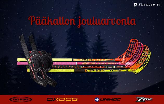 Pääkallo.fi toivottaa jouluarvonnan myötä hyvää joulua kaikille salibandyihmisille – myös sille eräälle tshekkiläiselle tuomarille.