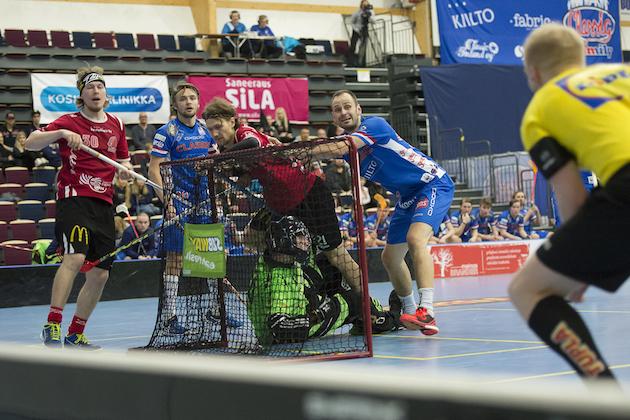 Juuso Heikkinen oli vaikea pideltävä Classic-puolustukselle sunnuntaina. Kuva: Esa Jokinen.