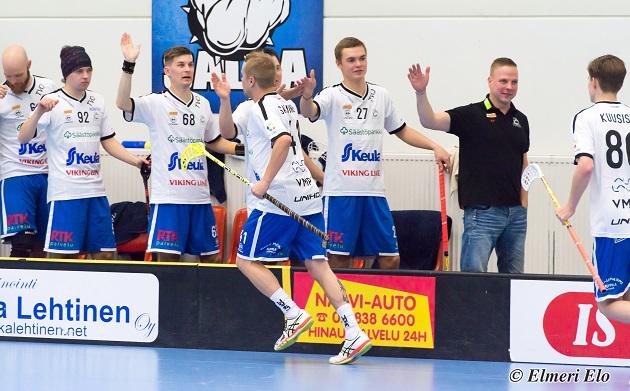 Rauman SalBan Juha Mäkilä siirsi itsensä syrjään valmennustehtävistä loppuvuoden ajaksi. Kuva: Elmeri Elo