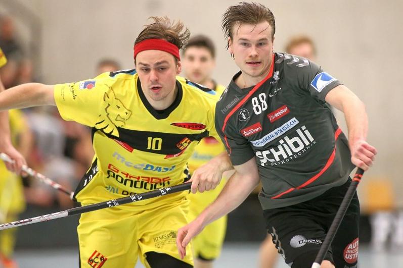 Yltääkö Markus Kulmalan UHC Uster pudotuspeleihin? Kuva: Severin Binkert / Unihockey.ch