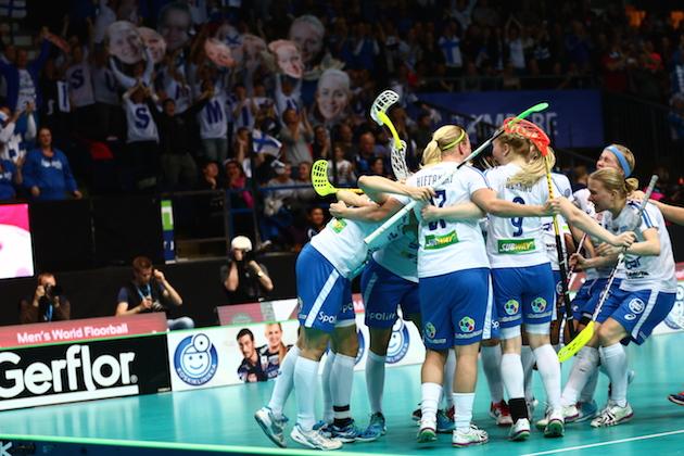 Tuulettaako Suomi tänään maailmanmestaruutta kotiyleisön edessä? Kuva: Ville Vuorinen.