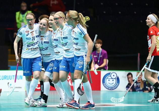 Suomen ykkösvitja oli täysin pitelemätön Saksaa vastaan. Kuva: Ville Vuorinen/IFF