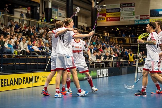 Viikingit saa välierissä vastaansa Divari-joukkue LaSB:n. LaSB on ainoa Divari-joukkue cupin välierissä. Kuva: Jari Turunen