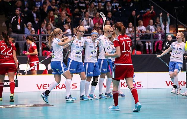 Suomen ylivoima onnistui tänään kertaalleen. Kuva: IFF