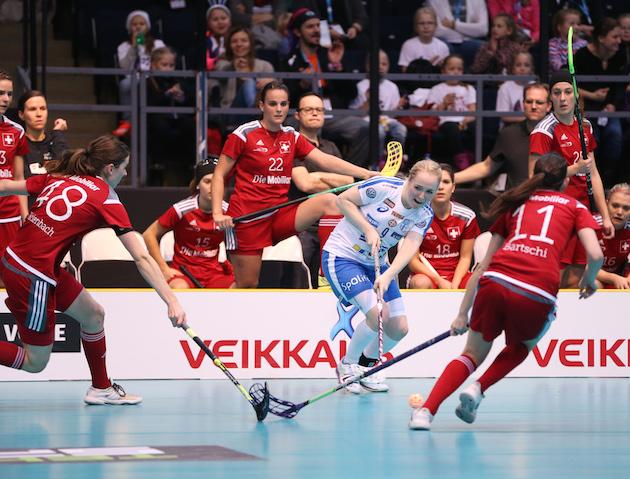 Eliisa Alanko ei ole näissä kisoissa vielä esittänyt parasta osaamistaan. Kuva: Ville Vuorinen.