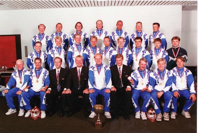 Kuvassa Euroopan mestarit vuosimallia 1995.