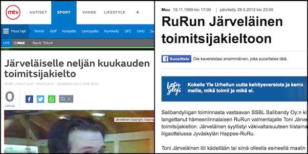 Kuvakaappaukset: MTV3 & Yle