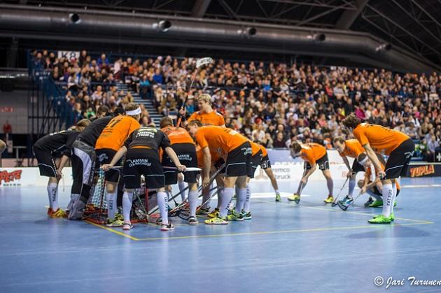 LaSB johtaa tällä hetkellä miesten Divaria kuuden pisteen erolla seuraavaan joukkueeseen. Kuva: Jari Turunen