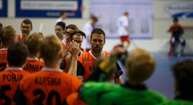 PHSB:n edustusjoukkue pelaa tällä hetkellä Kaakkois-Suomen kakkosdivioonassa. Joukkue on sarjataulukon kolmantena. Kuva: www.anttisihlmanphoto.com