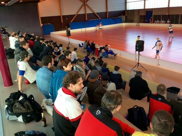 Ranskan mestaruussarjan turnaus pelattiin Tourcoingissa kaksi viikkoa sitten.