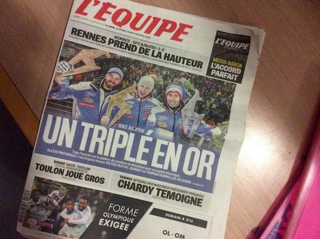 L'équipe on ranskalaisten urheiluihmisten Raamattu.