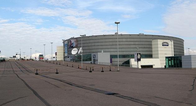 Salibandyn Superfinaalien pelit mitellään 16.4. 2016 Hartwall Arenalla. Kuva: Salibandyliiga