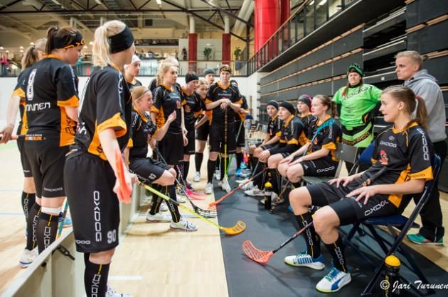 Rankkojen Ankkojen valmentajan ja seura puuhamiehen Jani Laukon mukaan suurin osa joukkueen pelaajista on jatkamassa liigakentillä. Kuva: Jari Turunen