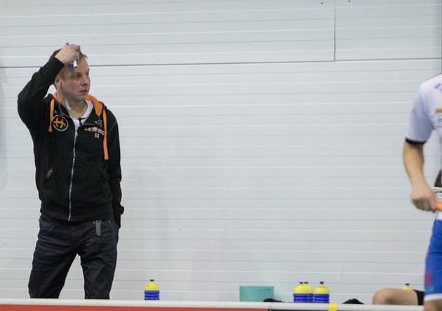 Juha Mäkilä ei jatka SalBan päävalmentajana ensi kaudella. Kuva: Juhani Järvenpää