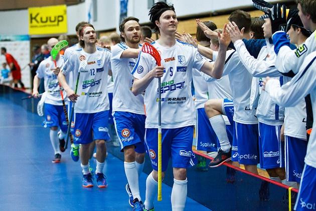 Petri Hakonen oli vahvassa pistevireessä Suomen takalinjoilla. Kuva: IFF