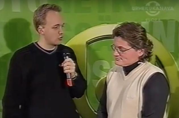 Oskari Saaren haastattelussa Petteri Nykky.