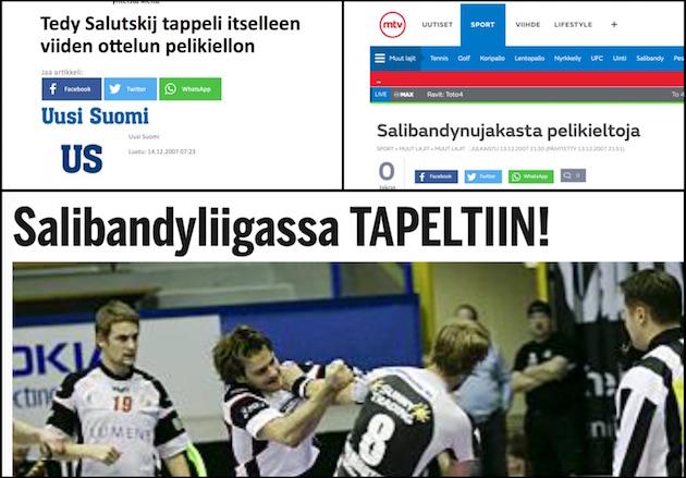 Kuvakaappaukset: Uusi Suomi, MTV ja Ilta-Sanomat