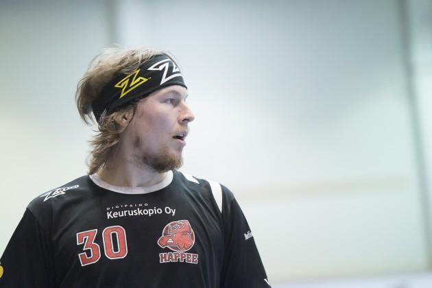 Happeen Veli-Matti Hynynen hallitsi pörssejä tällä kaudella. Kuva: Esa Jokinen