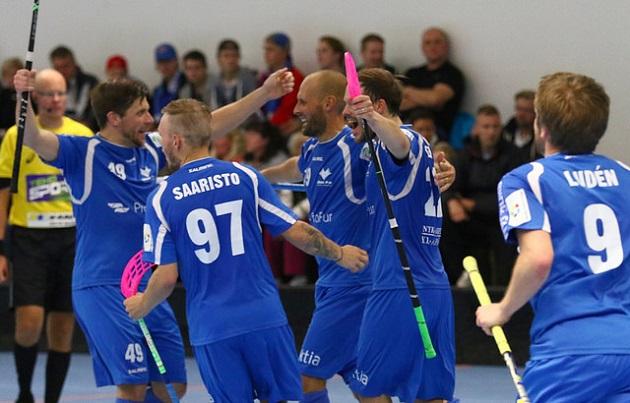 Blue Fox vei Pohjanmaan herruuden suoraan kahdessa ottelussa. Arkistokuva: Juhani Järvenpää