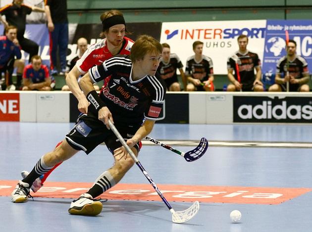 Harri Forsten oli vahvassa vireessä toisessa välieräottelussa. Kuva: Juhani Järvenpää