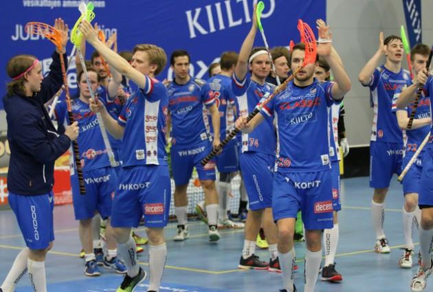 Runkosarjan voittanut Tampereen Classic pääsi valitsemaan puolivälierävastustajansa ensimmäisenä. Kuva: Esa Takalo