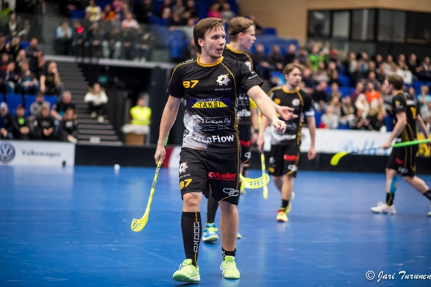 Iiro Nurminen oli vahvassa vireessä Divarin kolmannessa finaalissa. Kuva: Jari Turunen