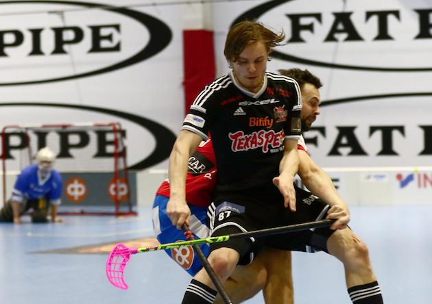Miko Kailiala keräsi perjantain ottelussa tehot 1+1. Kuva: Juhani Järvepää