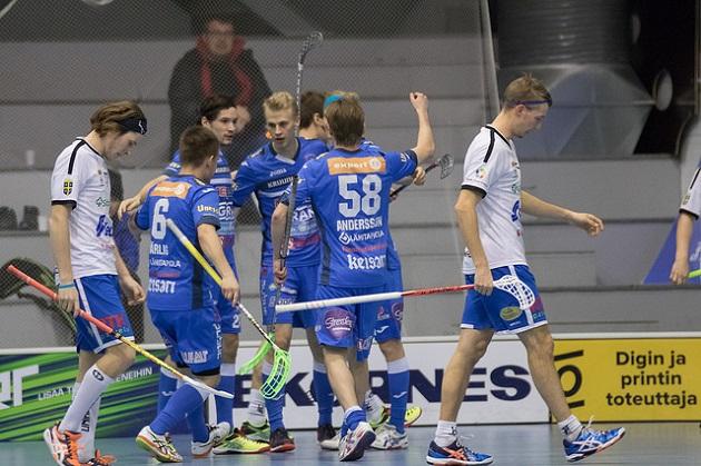 Nokian KrP voitti ensimmäisen playout-ottelun maalein 3-2. Arkistokuva: Topi Naskali