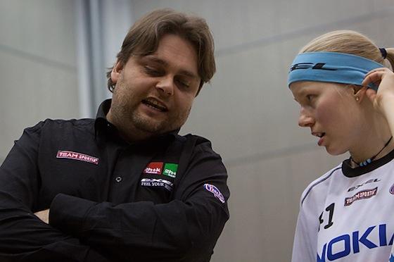 """Pasi """"Passo"""" Peltola on yksi kaikkien aikojen merkittävimmistä suomalaisista salibandypersoonista. Kuva: Salibandyliiga"""