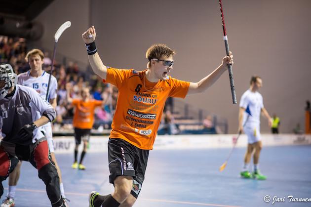 Heikki Hätönen oli tänäänkin yksi ottelun hahmoista. Arkistokuva: Jari Turunen.