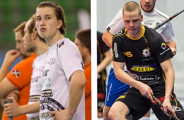 Kumpi näistä superlupauksista nostaa joukkueensa liigaan? Kuvat: Jari Turunen.