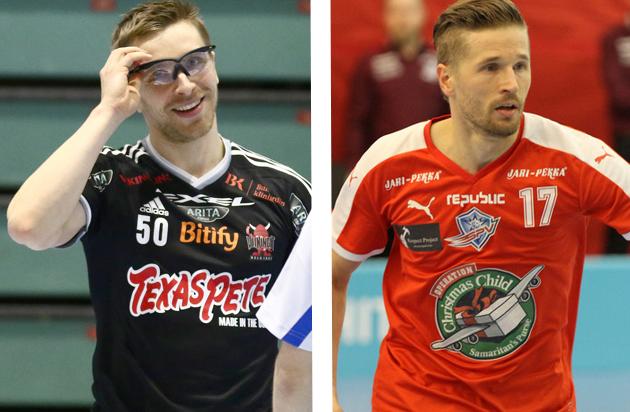 Nämä konkarit ovat suuressa roolissa omien joukkueidensa menestyksen suhteen. Kuvat: Juhani Järvenpää ja Juha Käenmäki.